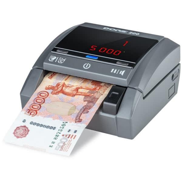 Детекторы банкнот Детектор банкнот DORS 200   оборудование и программное обеспечение для автоматизации бизнеса   ГК Эгида, Россия