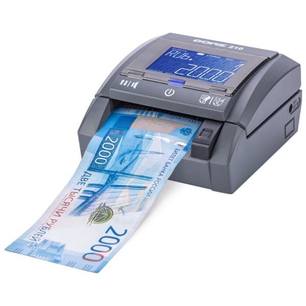 Детекторы банкнот Детектор банкнот DORS 210 compact | оборудование и программное обеспечение для автоматизации бизнеса | ГК Эгида, Россия