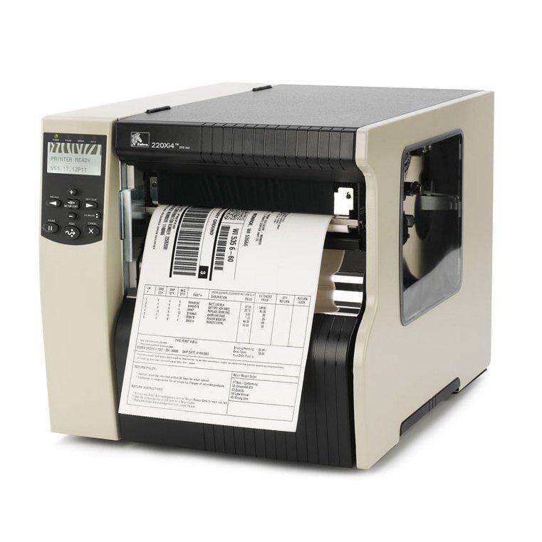 Начальный класс Промышленный принтер этикеток Zebra 220Xi4   оборудование и программное обеспечение для автоматизации бизнеса   ГК Эгида, Россия