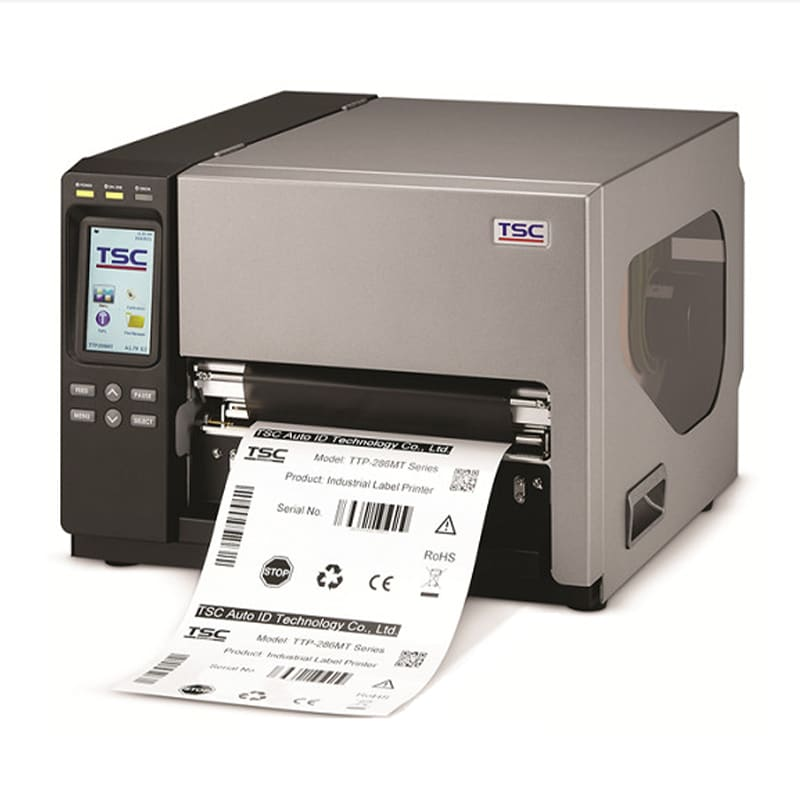 Принтеры этикеток Промышленный принтер этикеток TSC TTP-286MT | оборудование и программное обеспечение для автоматизации бизнеса | ГК Эгида, Россия