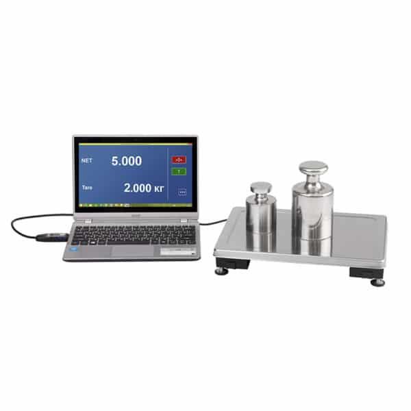 Весы с интерфейсом USB Модуль взвешивающий с интерфейсом USB Масса-К MK-15.2-UA   оборудование и программное обеспечение для автоматизации бизнеса   ГК Эгида, Россия
