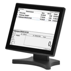 Мониторы кассира POS-монитор АТОЛ LM15 | оборудование и программное обеспечение для автоматизации бизнеса | ГК Эгида, Россия