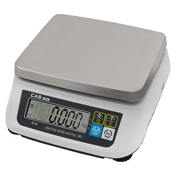 Весы настольные Порционные весы CAS SWN-6   оборудование и программное обеспечение для автоматизации бизнеса   ГК Эгида, Россия