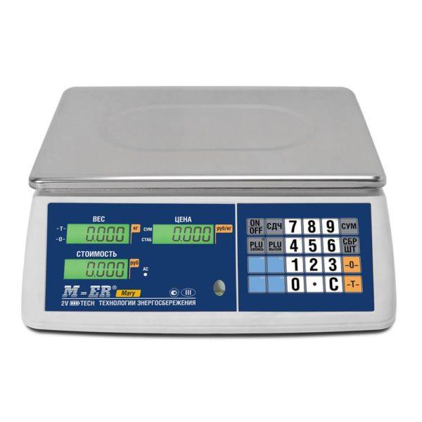 """Весы настольные Торговые весы Mertech (Mercury) M-ER 223 AC-15.2 """"Mary"""" LCD   оборудование и программное обеспечение для автоматизации бизнеса   ГК Эгида, Россия"""
