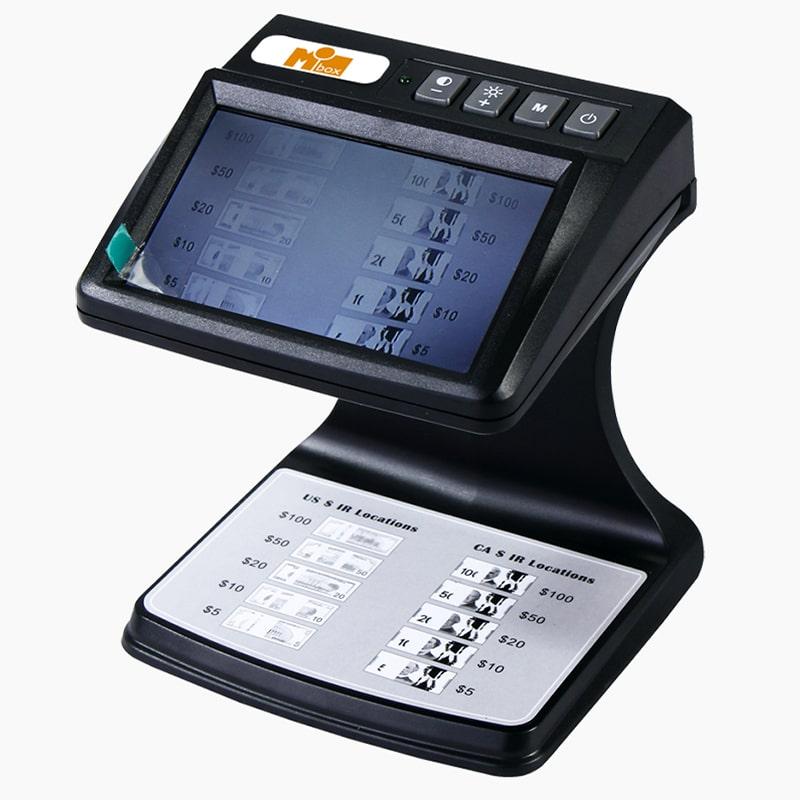Детекторы банкнот Просмотровый детектор Mbox IRD-AS   оборудование и программное обеспечение для автоматизации бизнеса   ГК Эгида, Россия