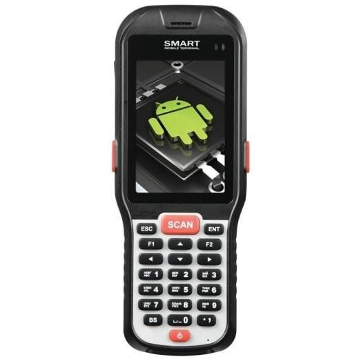 """Распродажа Мобильный терминал АТОЛ SMART.DROID (WinCE 6.0, 1D Laser, 3.5"""", 256Мбх256Мб, Wi-Fi b/g/n, Bluetooth)   оборудование и программное обеспечение для автоматизации бизнеса   ГК Эгида, Россия"""