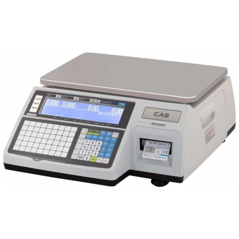Весовое оборудование Весы торговые электронные CAS CL3000-15B TCP-IP | оборудование и программное обеспечение для автоматизации бизнеса | ГК Эгида, Россия