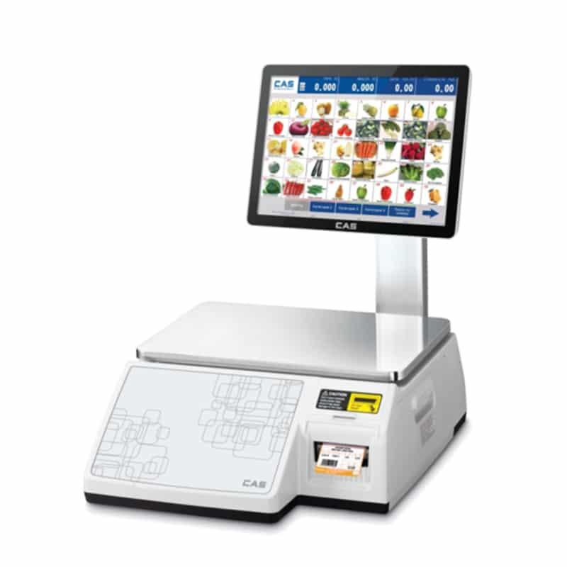 Весовое оборудование Весы торговые электронные CAS CL7000-15S демо   оборудование и программное обеспечение для автоматизации бизнеса   ГК Эгида, Россия